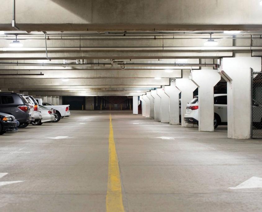 Parking Lot Interior