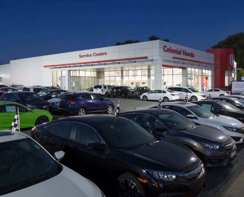 Auto Dealership Exterior