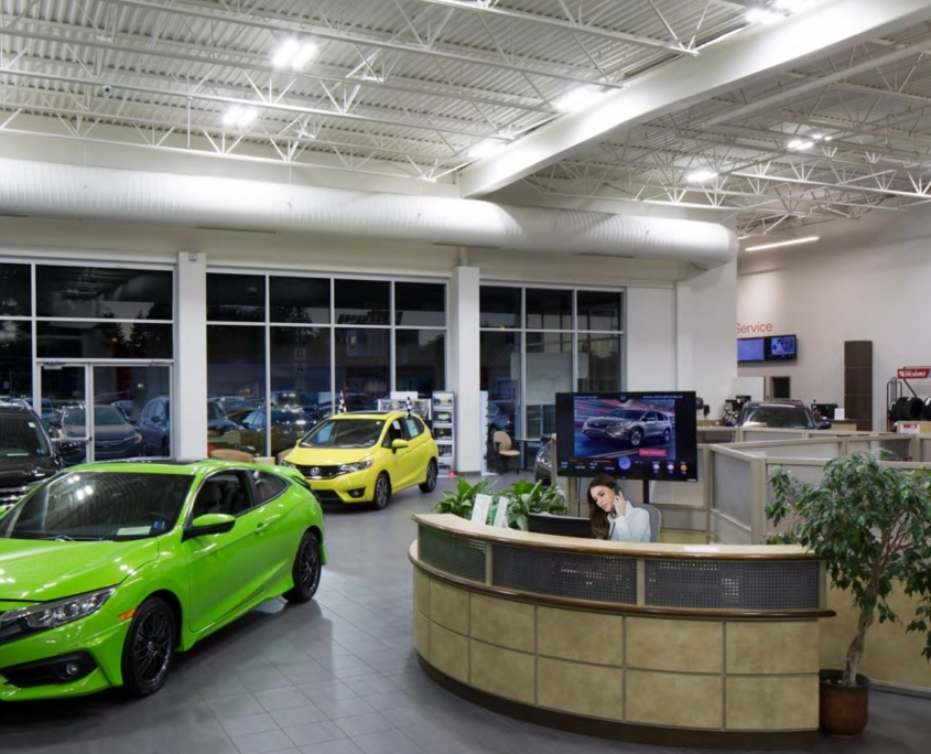 Auto Dealership Interior
