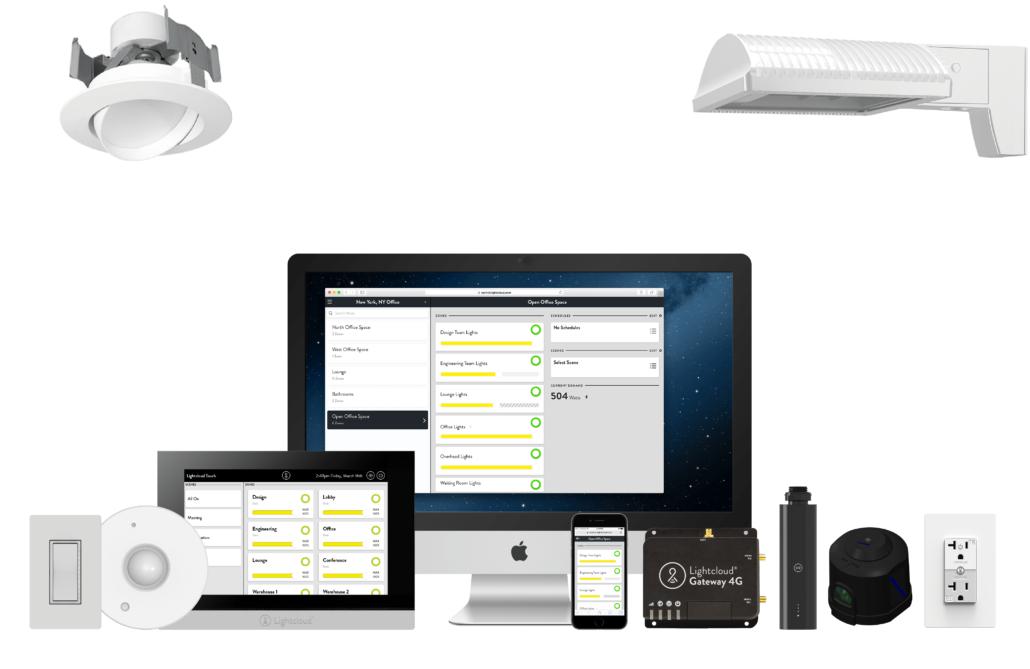 Lightcloud Devices with Fixtures