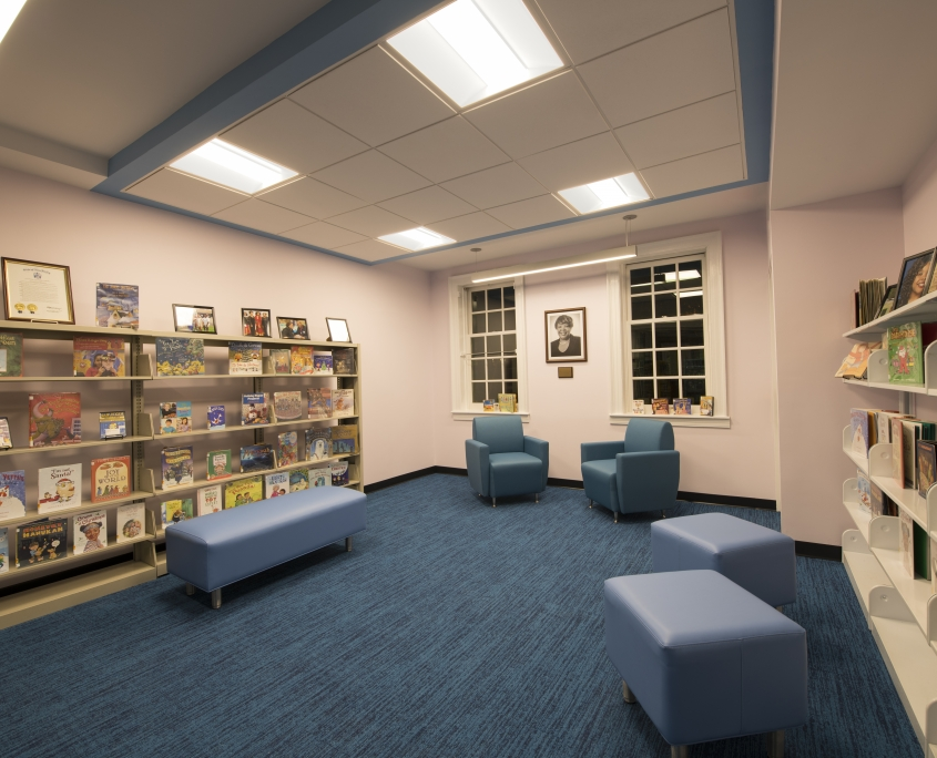 Lightcloud Controlled Kid's Library in Community Center