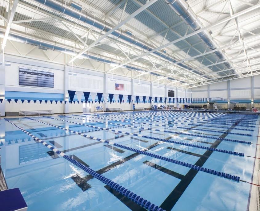 Pool with RAB Lighting and Lightcloud Controls