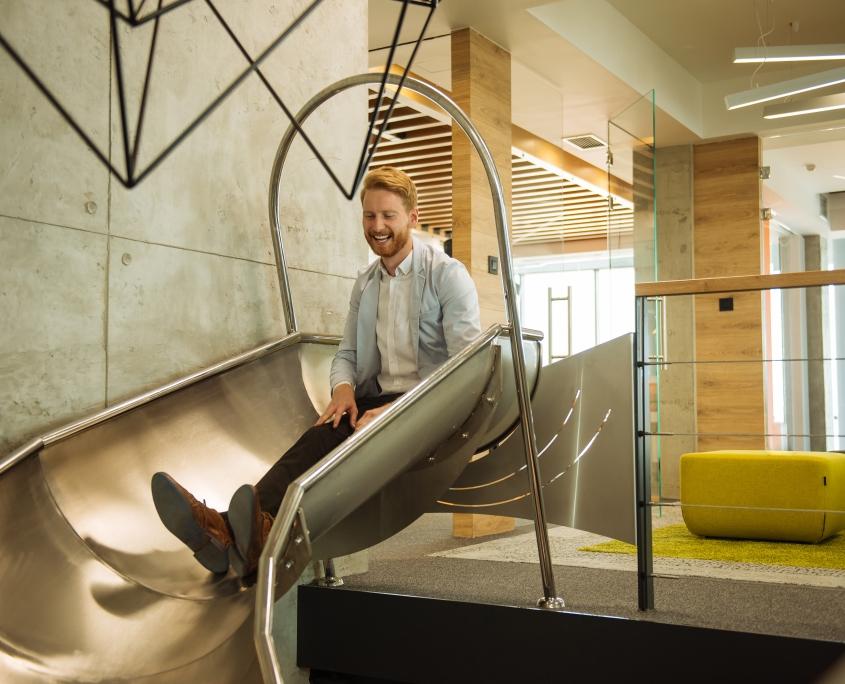 Slide at Office