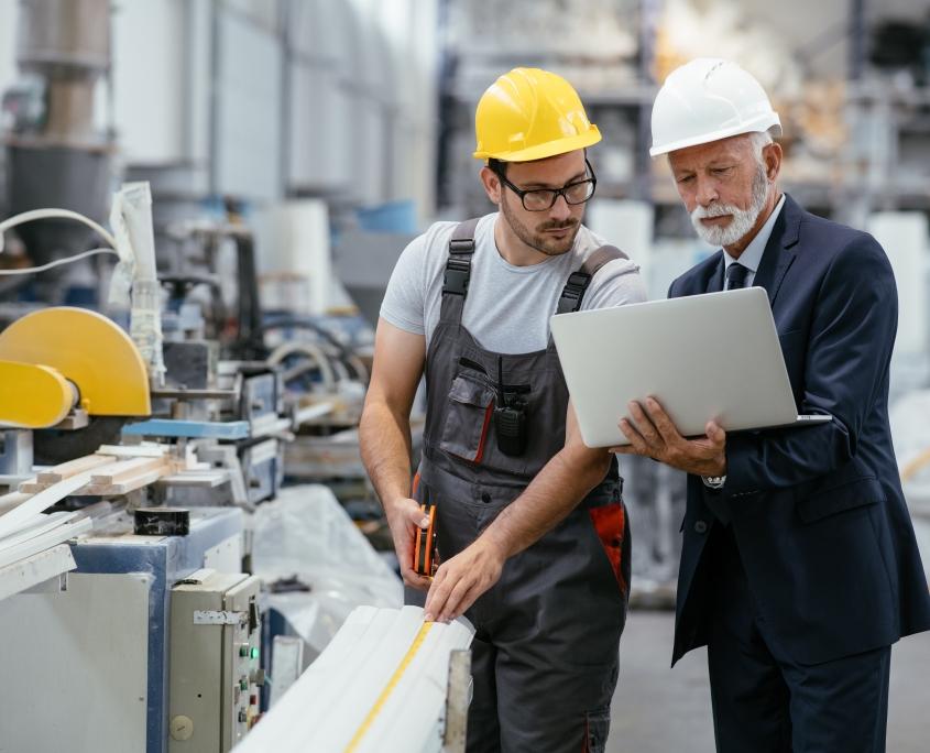 Engineers in Factory