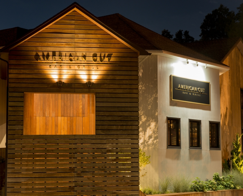 Restaurant Exterior Lighting