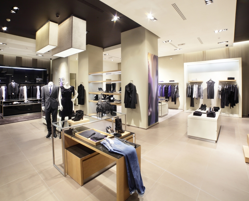 Clothing Store Lighting